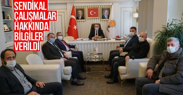 HAK-İŞ'ten AK Parti Sakarya ziyareti