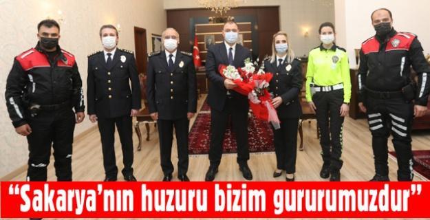 Emniyet Teşkilatından Vali Kaldırım'a ziyaret