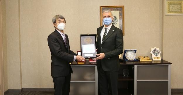 Filipinler İstanbul Başkonsolosu'ndan SATSO ziyareti