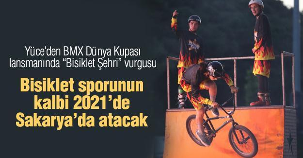 Bisiklet sporunun kalbi 2021'de Sakarya'da atacak