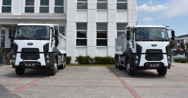 Erenler'e iki yeni damperli kamyon