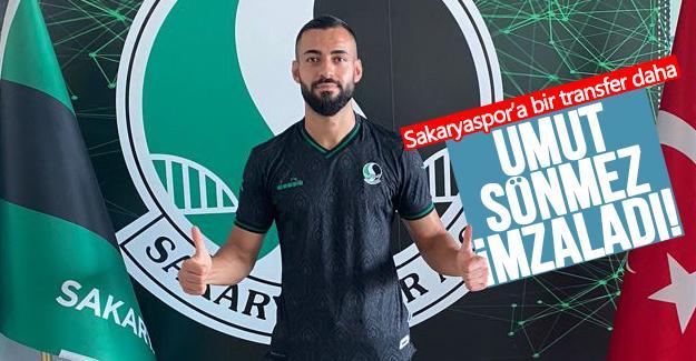 Sakaryaspor'a bir transfer daha