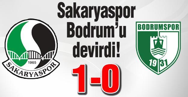 Sakaryaspor Bodrum'u devirdi! 1-0