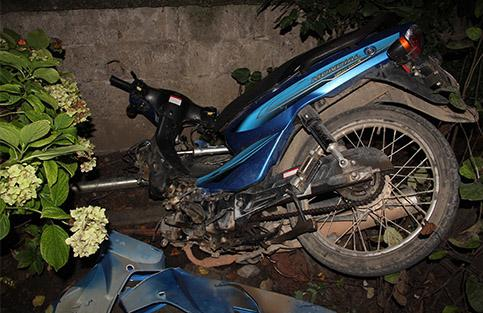 İki motosiklet çarpıştı: 1 yaralı