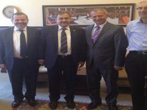 Başkan Dişli'den Eroğlu'na ziyaret