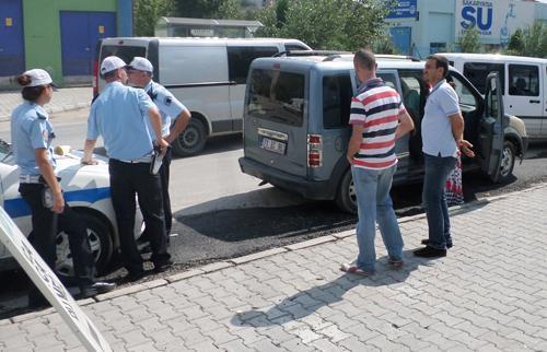Düzce'den çaldı Serdivan'da yakalandı
