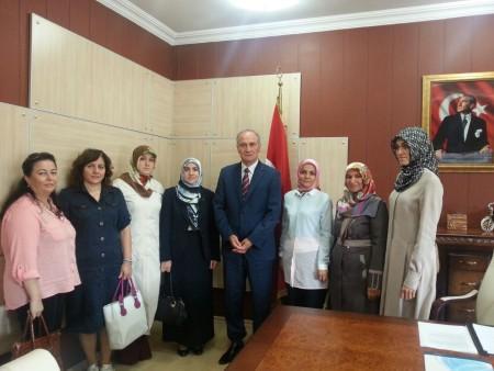 Sakarya AK Parti İl Kadın Kolları'ndan ziyaret