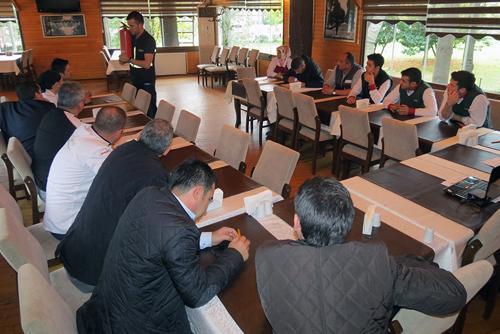 Orman Park personeline iş güvenliği eğitimi