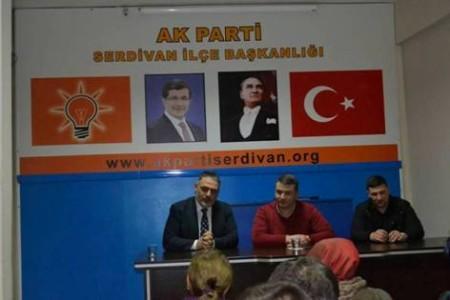 Çelik ve Hacıeyüpoğlu'ndan Serdivan İlçe Teşkilatı'na Ziyaret