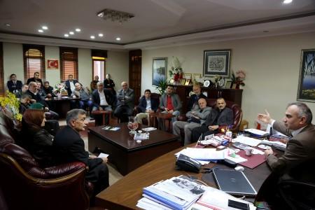 AK Parti Sapanca'dan Başkan Yılmazer'e ziyaret