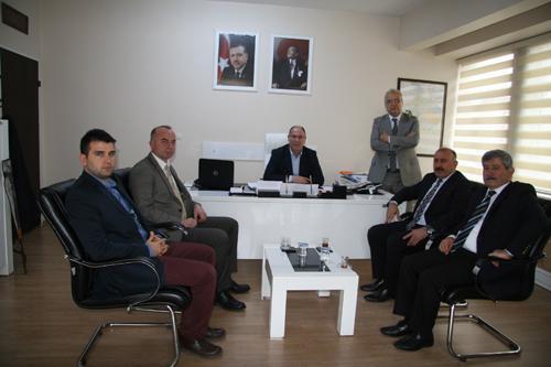 Gökçebey Belediyesi'nden Başkan Vekili Aydın'a ziyaret
