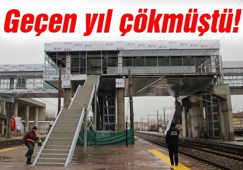 YHT Arifiye istasyonunda çalımalar sürüyor