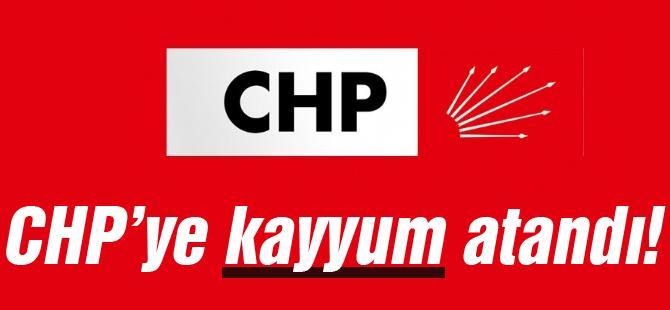 CHP'ye kayyum atandı