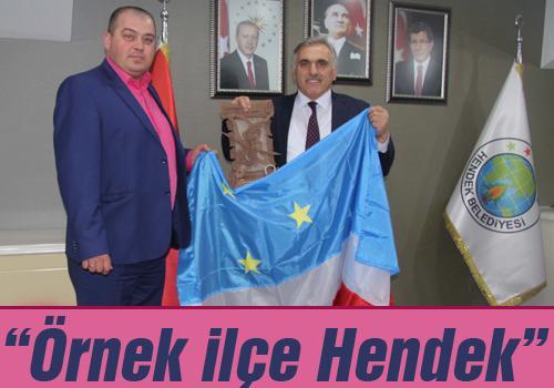 Gagauz Başkanlar Hendek'teydi