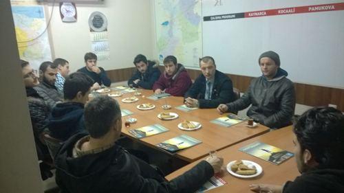SP'li gençlik kolları başkanları toplandı
