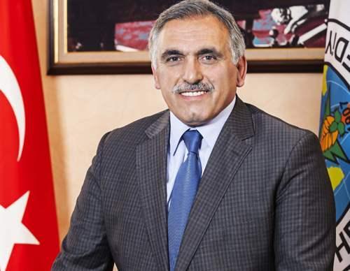 Başkan Ali İnci Mersin'de