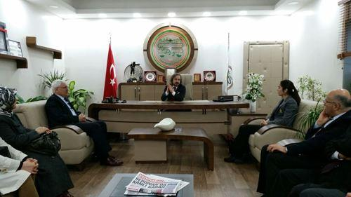 Başkan Ak Sakarya Barosunu ziyaret etti