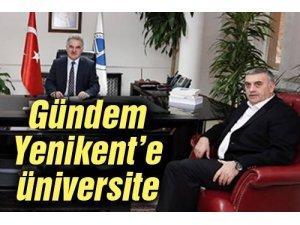 Başkan Toçoğlu Rektör Elmas ile bir araya geldi