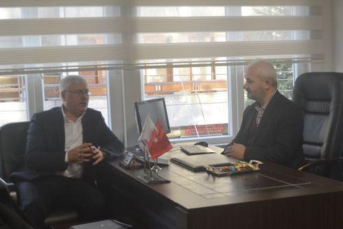 AK Parti Adapazarı'ndan İYC'ye ziyaret