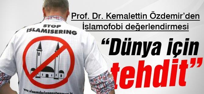 Prof. Dr. Kemalettin Özdemir'den İslamofobi değerlendirmesi