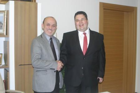 Orhan, Öztürk'ü ziyaret etti
