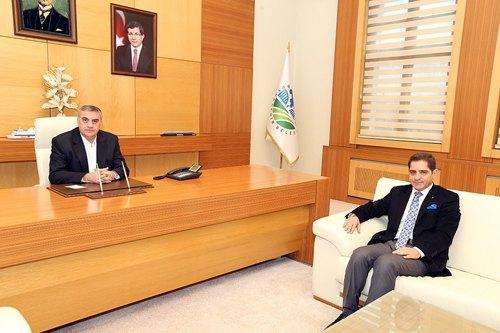 Başkan Toçoğlu Karataş'a başarı diledi
