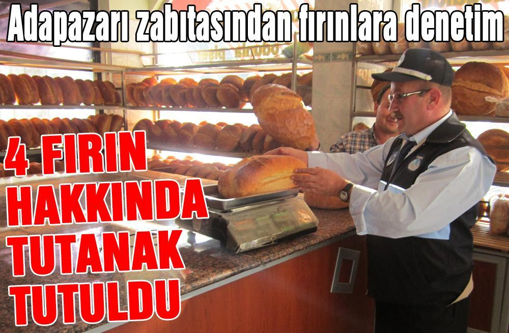 ADAPAZARI ZABITASINDAN FIRINLARA DENETİM