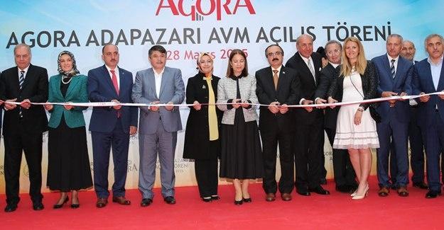 Agora AVM açıldı