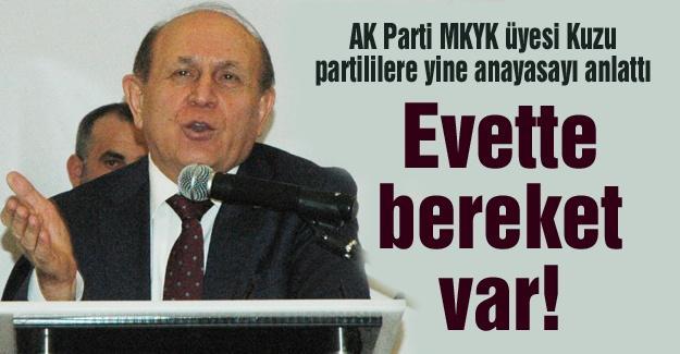 AK Parti MKYK üyesi Kuzu partililere yine anayasayı anlattı