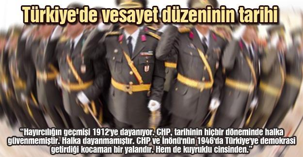 Türkiye'de vesayet düzeninin tarihi