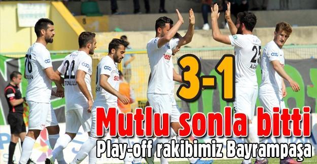 Play-off'ta rakibimiz Bayrampaşa!
