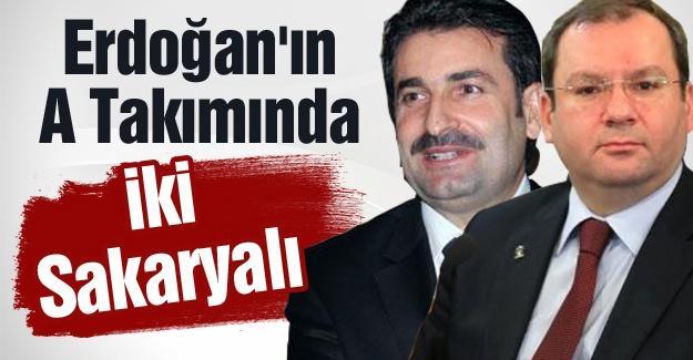 Erdoğan'ın A Takımında iki Sakaryalı