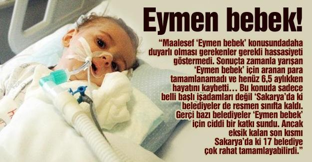 Eymen bebek!…