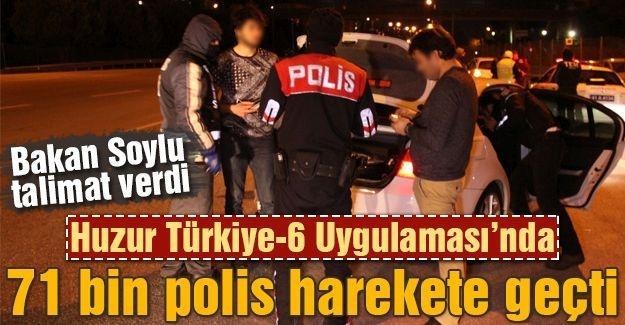 71 bin polis harekete geçti