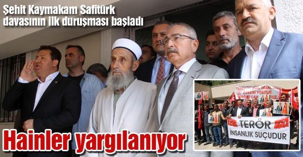 Şehit Kaymakam Safitürk davasının ilk duruşması başladı