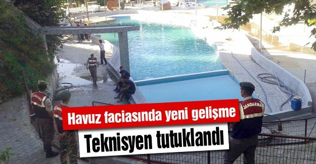 Havuz faciasında yeni gelişme! Teknisyen tutuklandı