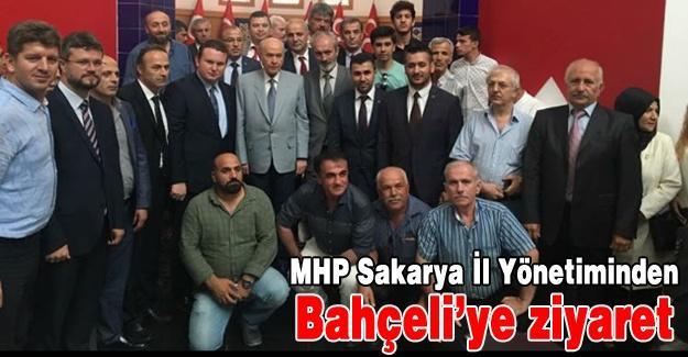 MHP Sakarya'dan Bahçeli'ye ziyaret