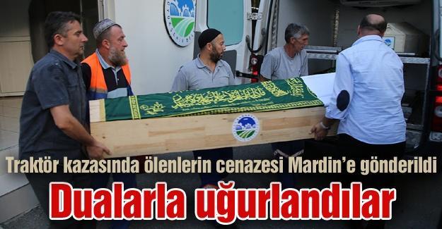 Cenazeler memleketleri Mardin'e gönderildi