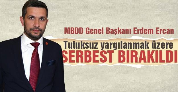 MBDD Genel Başkanı serbest bırakıldı
