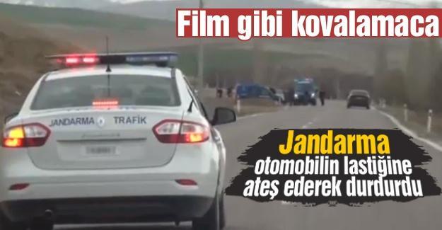 Jandarma'dan film gibi kovalamaca