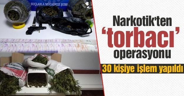 Narkotik'ten 'torbacı' operasyonu