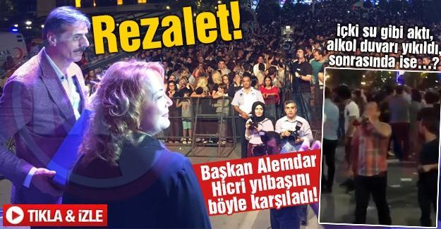 Başkan Alemdar Hicri yılbaşını böyle karşıladı!