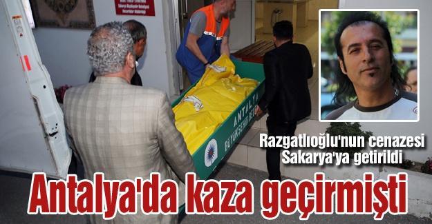 Razgatlıoğlu'nun cenazesi Sakarya'ya getirildi