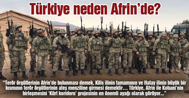 Türkiye neden Afrin'de?
