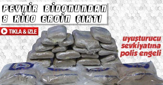 Uyuşturucu sevkiyatına polis engeli