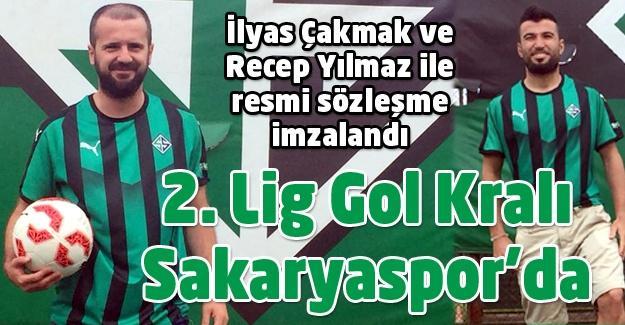 Gol Kralı Sakaryaspor'da!