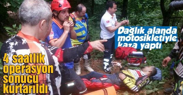 4 saat süren operasyon sonucu kurtarıldı