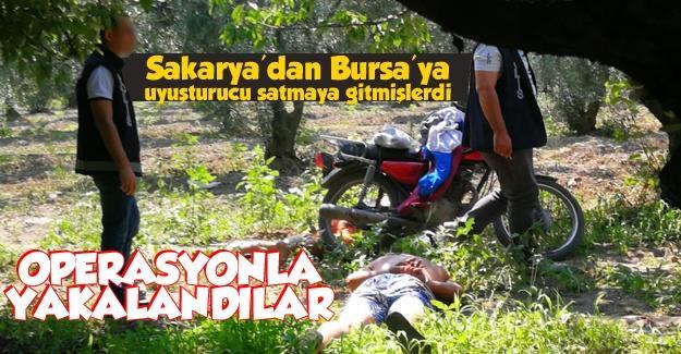 Uyuşturucu satıcıları Bursa'da yakalandı