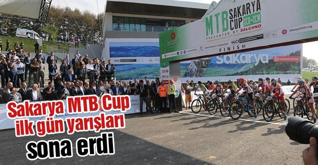 Sakarya MTB Cup ilk gün yarışları sona erdi