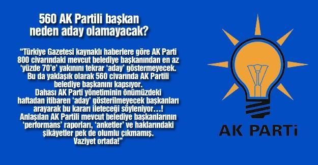 560 AK Partili başkan neden aday olamayacak?…